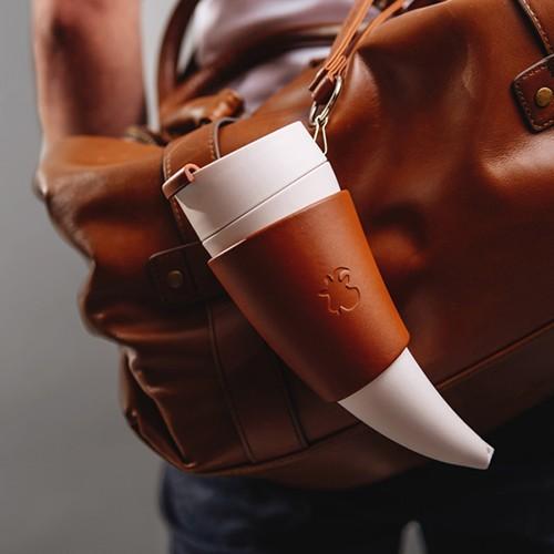Goat Horn Coffee Mug