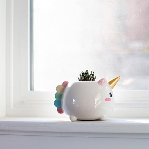 Elodie Unicorn Planter