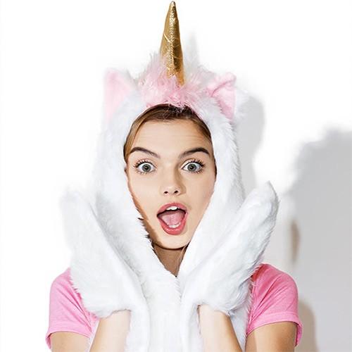 Magicorn | Hood Scarf | Unicorn Hat