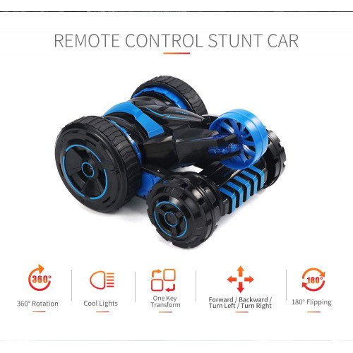3D Remote Control Stunt Car