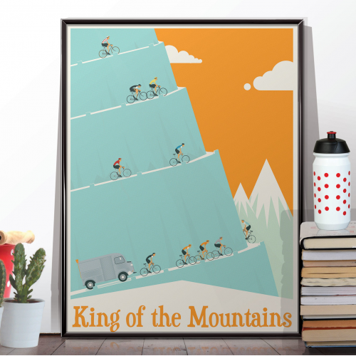 King of the Mountains Tour De France Bicycle