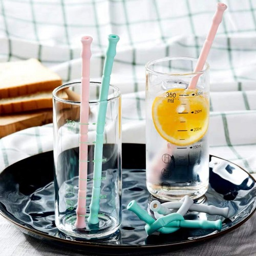 Reusable Collapsible Drinking Straws