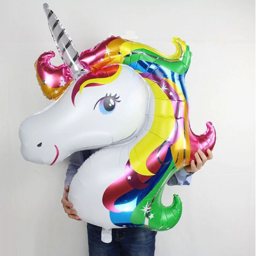 Giant Rainbow Unicorn Balloon