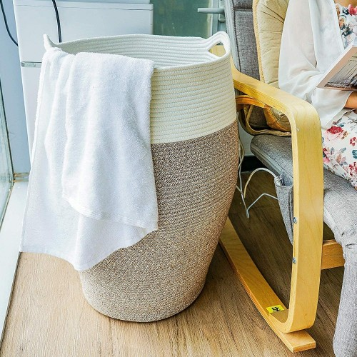 Tall Laundry Hamper | Large Modern Basket