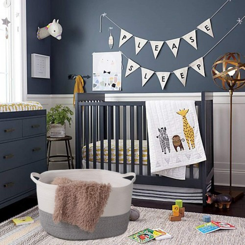 Nursery Room Rope Basket