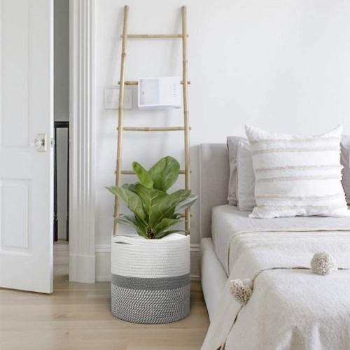 Rustic Indoor Planter Basket