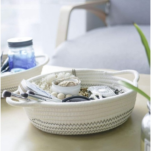 Small Cotton Rope Baskets