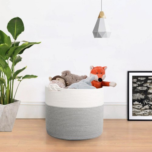 Toy Blanket Nursery Bin