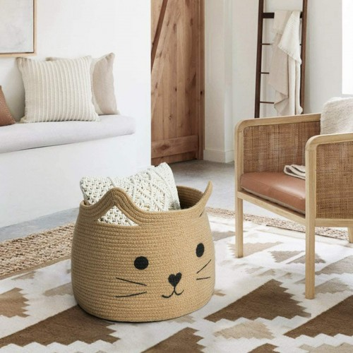 Cat Jute Nursery Basket