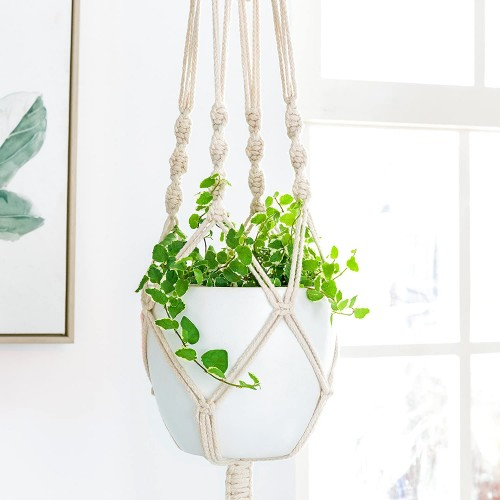 Cotton Rope Hanging Planters