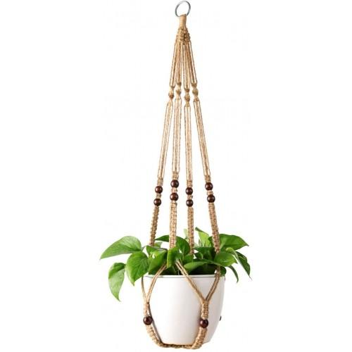 Brown Boho Hanging Planters
