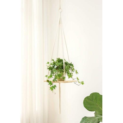 Macrame Shelf Plant Hanger