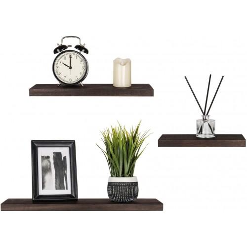 Wood Modern Floating Shelves