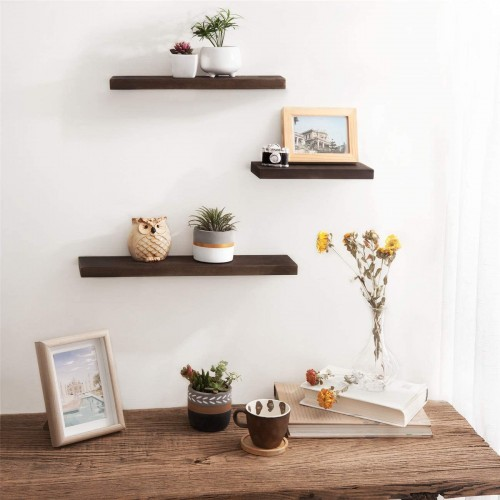 Wood Modern Floating Shelves