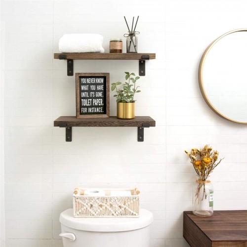 Wood Rustic Wall Shelves