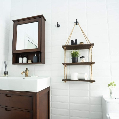 Wood Wall Hanging Shelf