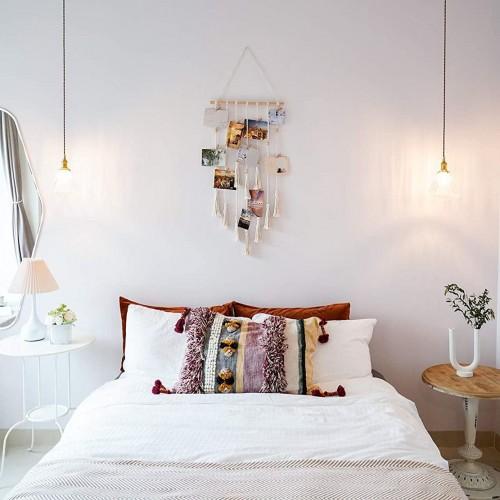 Macrame Hanging Photo Displays