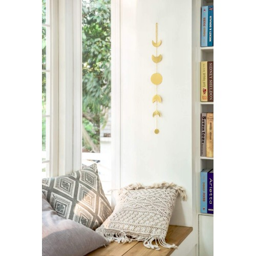 Moon Phase Gold Garland