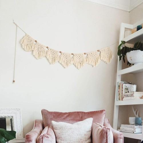 Macrame Banner Wall Hanging