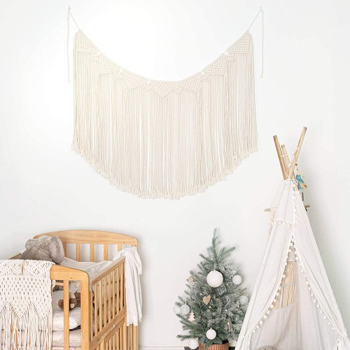 Macrame Woven Hanging Curtain