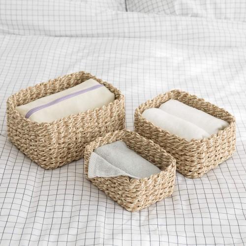 Woven Storage Baskets Organizer