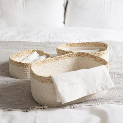 Woven Shelf Baskets Organizer
