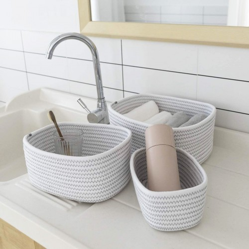 Multipurpose Cotton Rope Baskets