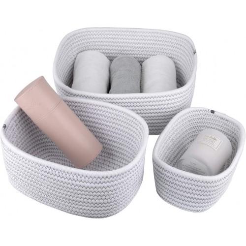 Multipurpose Cotton Rope Baskets