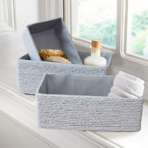 Paper Rope Storage Boxes