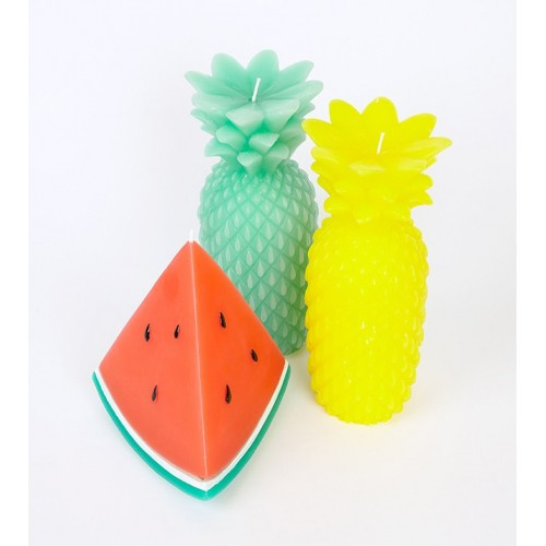 SunnyLife Large Watermelon Scented Candle