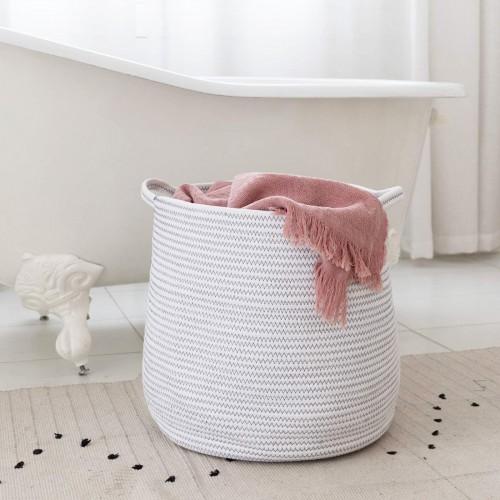 Large Laundry Belly Basket