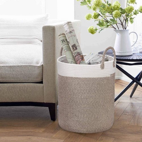 Cotton Rope Laundry Basket