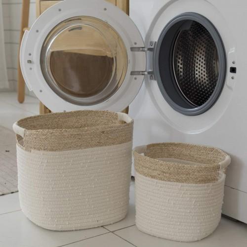 Rustic Laundry Storage Baskets