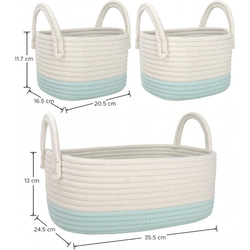 Multipurpose Baskets with Handles