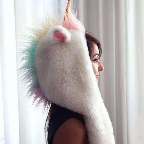 Magicorn | Hood Scarf | Unicorn Hat