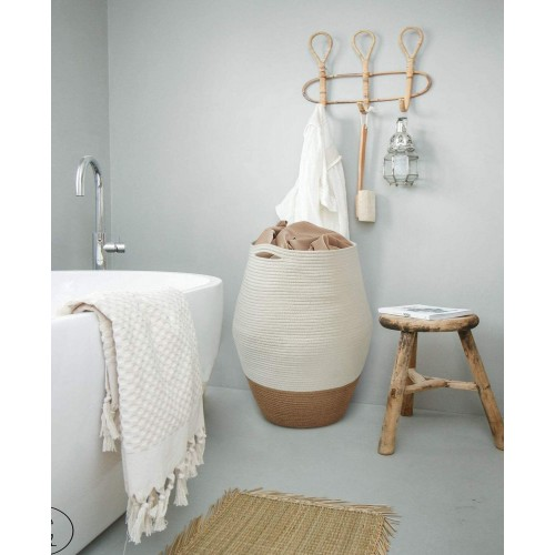 Farmhouse Design Laundry Basket
