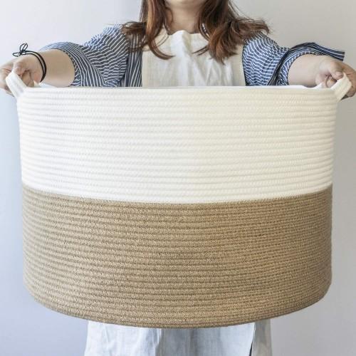 Large Jute Rope Basket