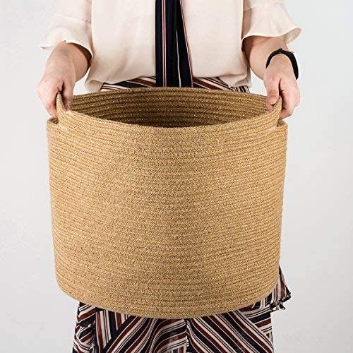 Jute Rope Storage Basket