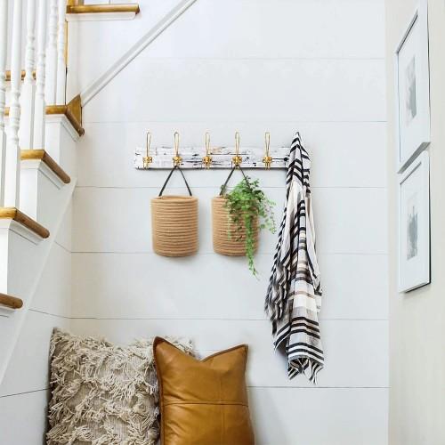 Modern Jute Hanging Baskets