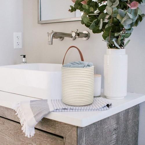 Modern White Hanging Baskets