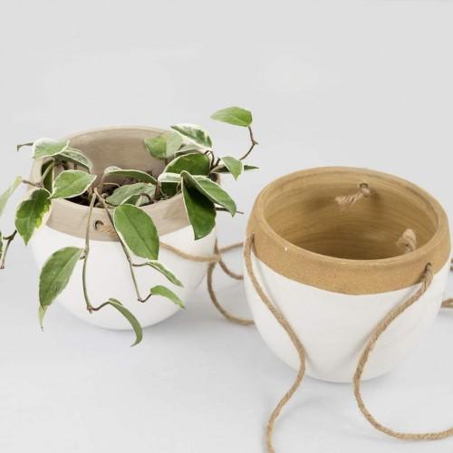 Indoor Ceramic Hanging Planters
