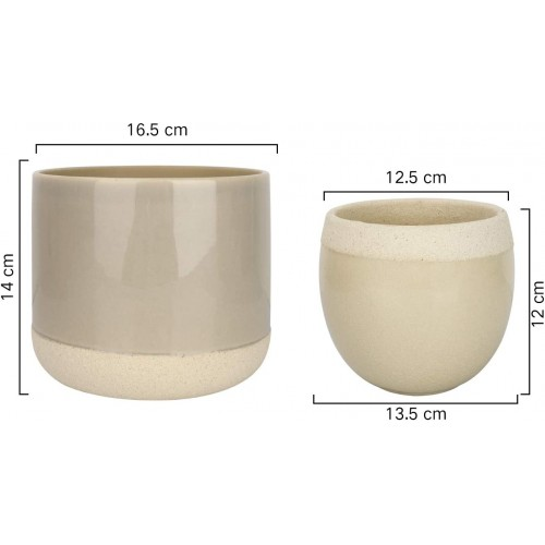 Ceramic Flower Plant Pots