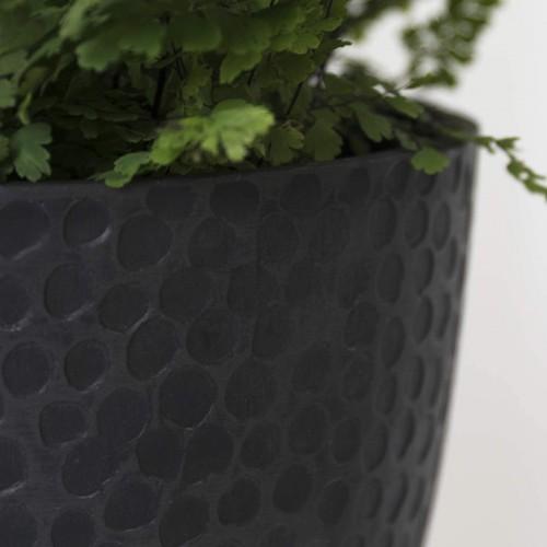 Honeycomb White Round Planter