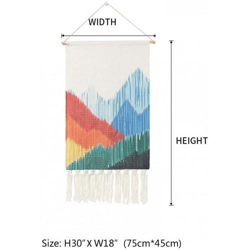 MS-Mountain Macrame Wall Hanging