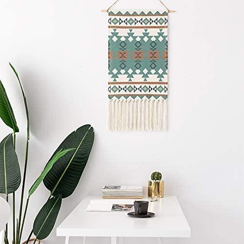 Siriranka-Green Macrame Wall Hanging