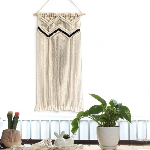 Wave Macrame Wall Hanging