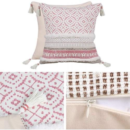 Pink Throw Pillow Case