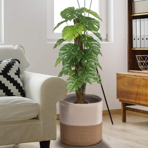 Cotton Rope Plant Basket