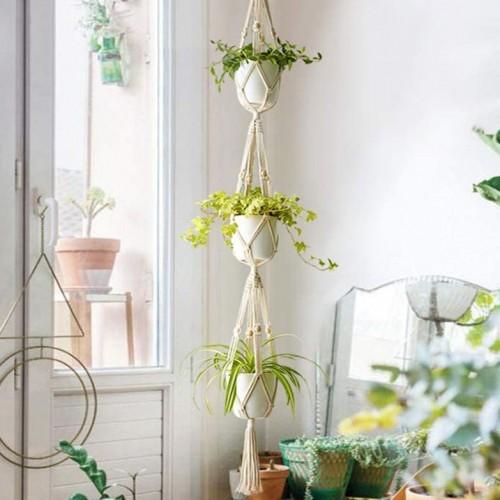Bohemian Macrame Plant Hanger