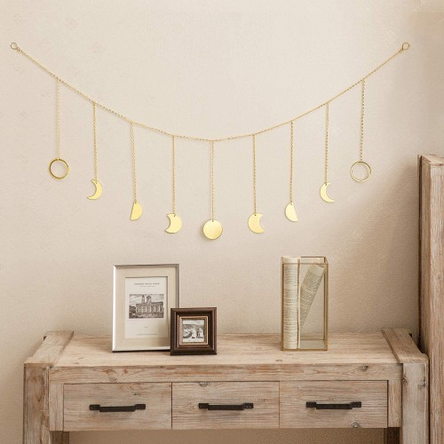 Gold Moon Wall Hanging